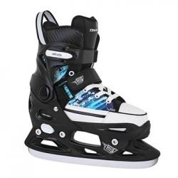 Posuvné nastavitelné lední juniorské brusle Tempish Rebel Ice One Pro modré