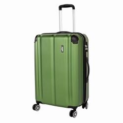 Rozšiřitelný plastový kufr na 4 kolečkách Travelite City M 68 cm