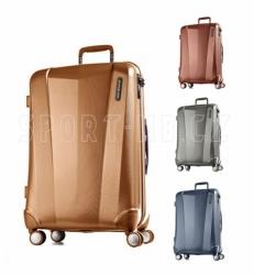 Střední kufr se 4 kolečky March Vision 68 cm, ultra lehký polycarbonát