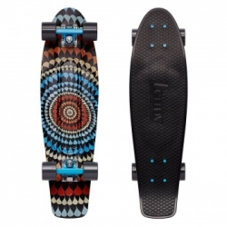 "Longboard Penny Graphics 27"" Mitch King ripple"