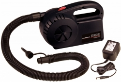 Akumulátorový motorek/pumpa k nafukování matrací včetně akumulátoru