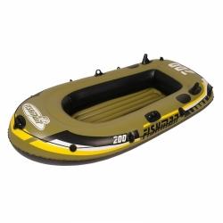 Levný nafukovací člun do vody, rybářské levné čluny pro 2 osoby s pádly a pumpou