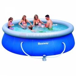 Kruhový nadzemní bazén 366 x 91 cm, dětské bazény levně, set s filtrací a doprava zdarma