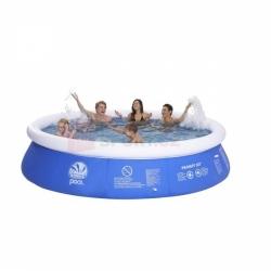 Dětský zahradní bazén 360 x 76 cm, nadzemní nafukovací prstencové bazény pro děti levně