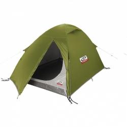 Turistický lehký stan Loap pro 1 - 2 osoby, levné stany na camping a turistiku