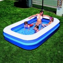 Nadzemní nafukovací bazén dětský 269 x 175 cm, nejlevnější zahradní bazény